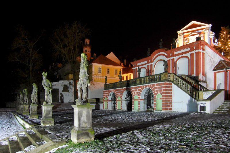 Замок Клаштерец-над-Огрой
