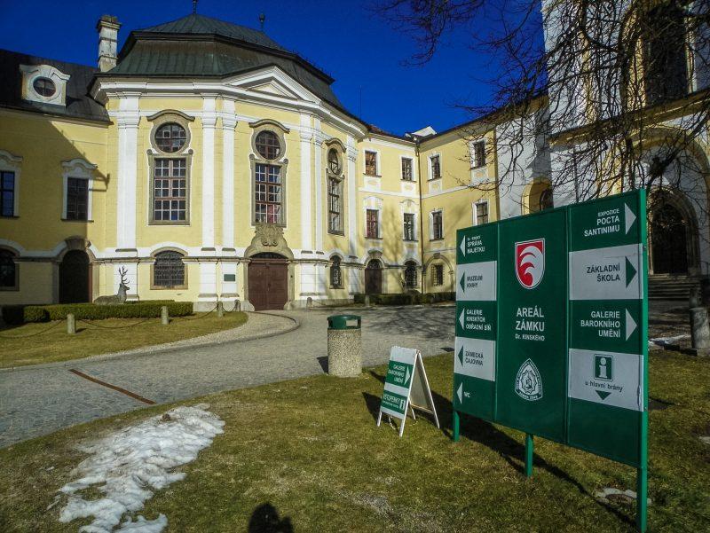 Замок Ждяр-над-Сазавой