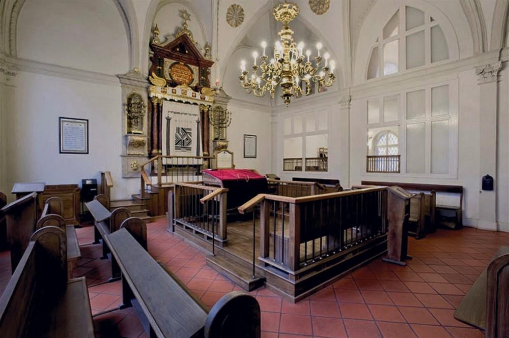 Молельный зал Высокой синагоги