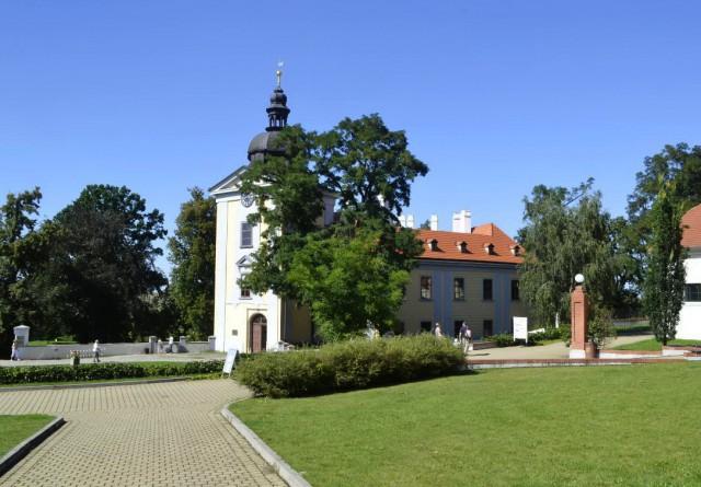 Замок Цтенице (Zámek Ctěnice)
