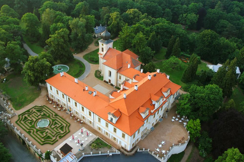 Замок Лоучень и его лабиринты