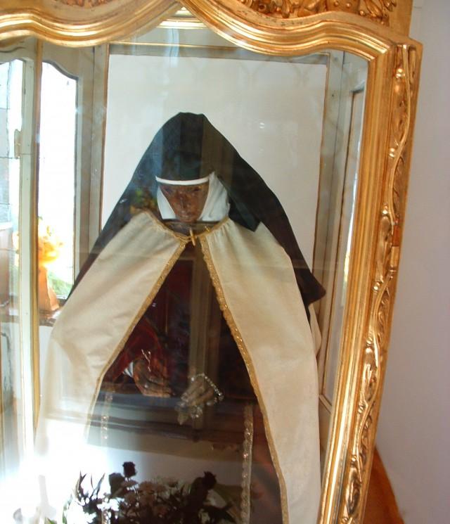Мумия настоятельницы монастыря Марии-Электры