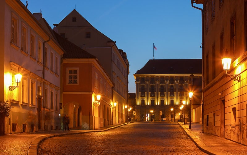 Лоретанская улица (Loretánská ulice)