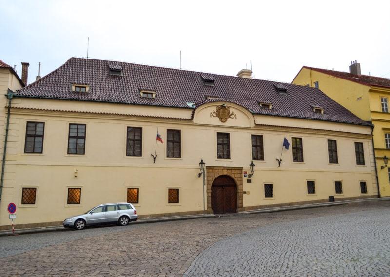 Грзанский дворец (Hrzánský palác)