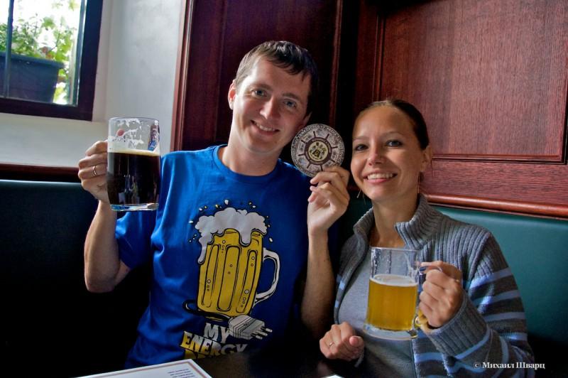 За кружечкой пива