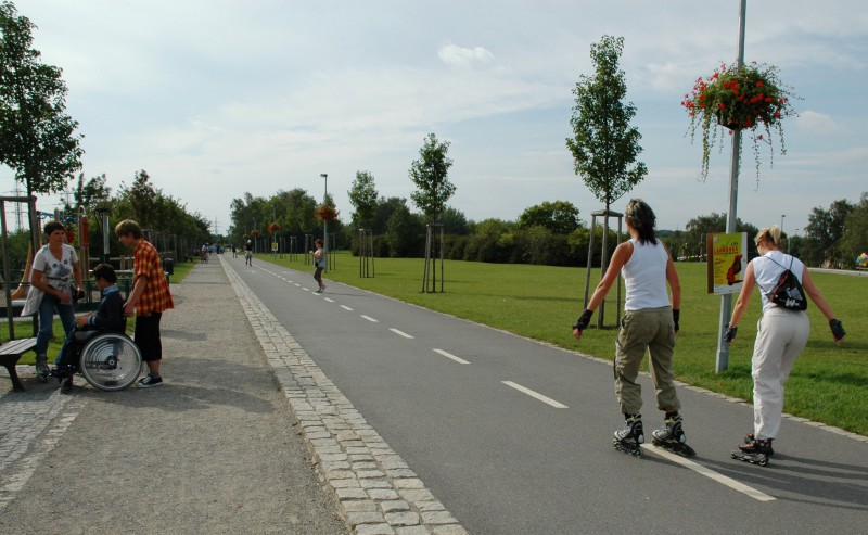Парк Ладронка – лучшее место для активного отдыха в Праге