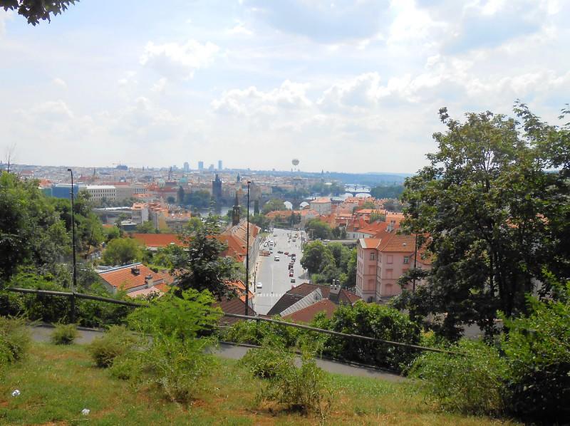 Хотковы сады - одна из лучших смотровых площадок Праги