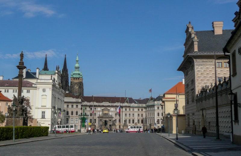 Градчанская площадь (Hradčanské námĕstí)
