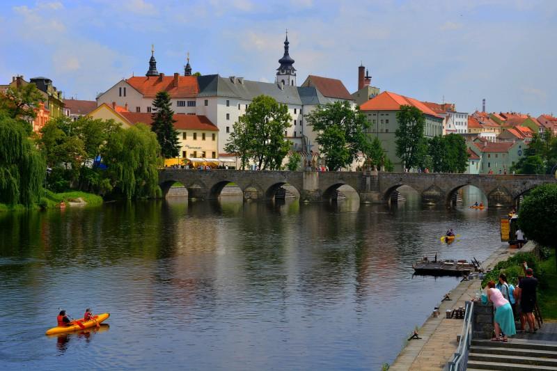 Чешский город Писек