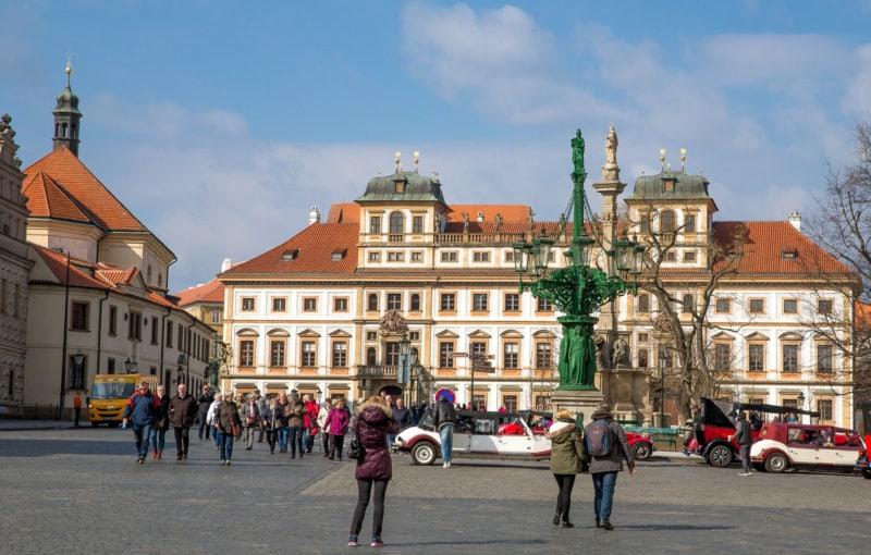 Дворец в ансамбле Градчанской площади