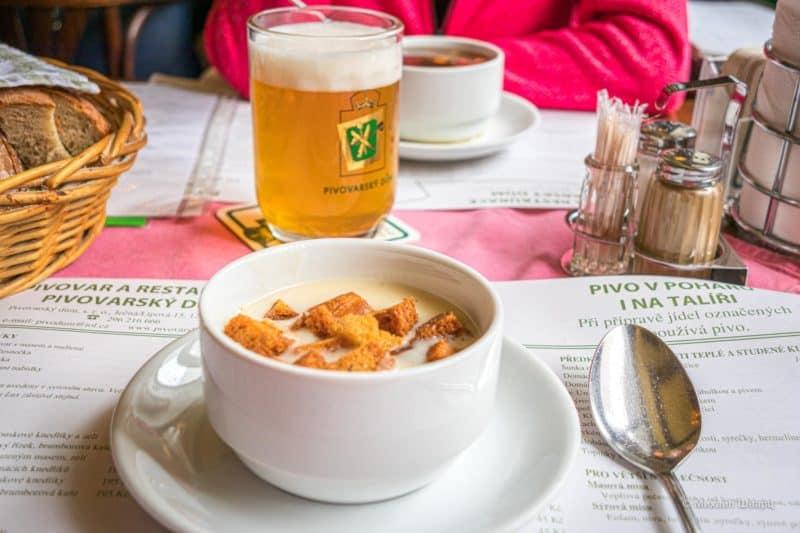 Суп тоже очень хорош