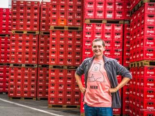 Пивоваренный завод Budweiser