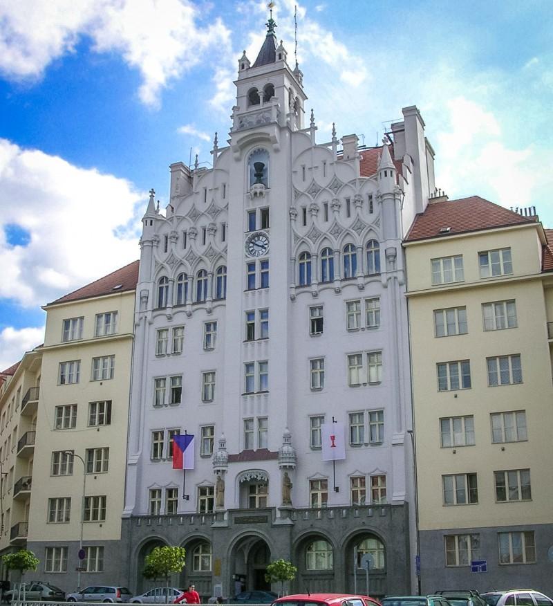 Управление Чехословацкой Гуситской Церкви в районе Дейвице