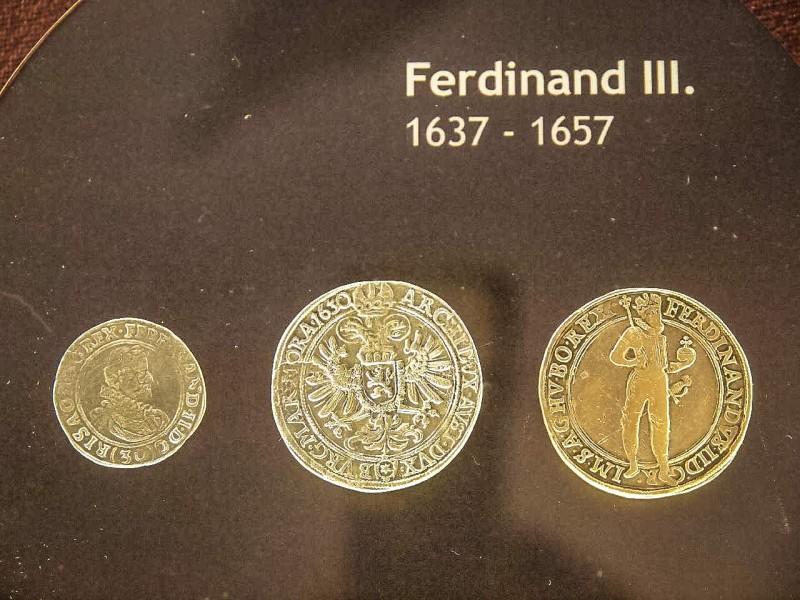 Монеты, отчеканенные в Кутна-Горе во время правления Фердинанда III