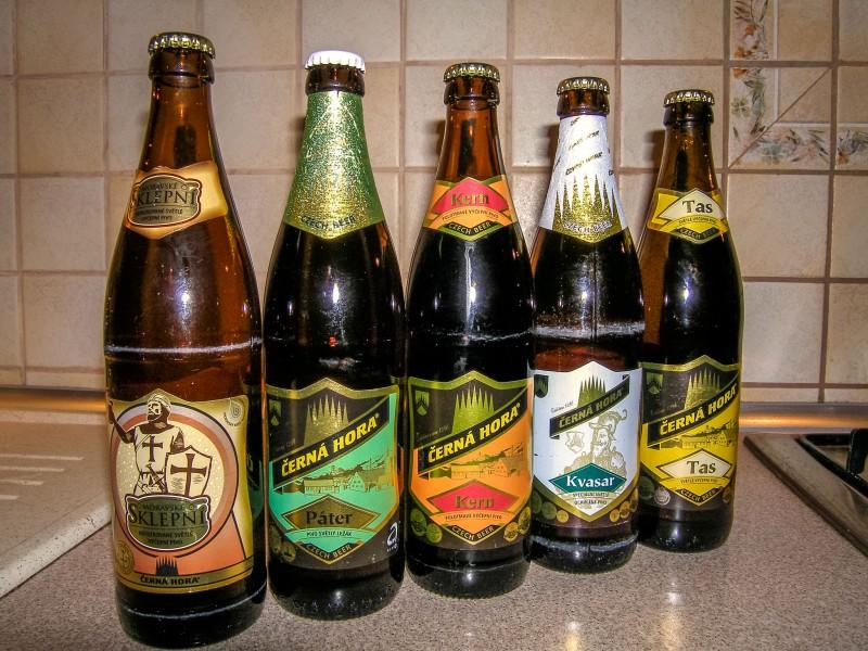 Пиво Černá Hora