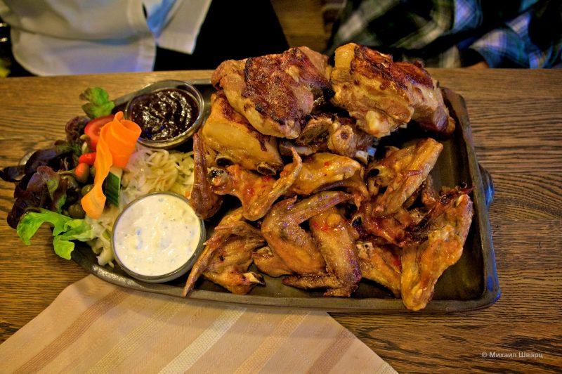 Kuřecí křidélka – хрустящие куриные крылышки