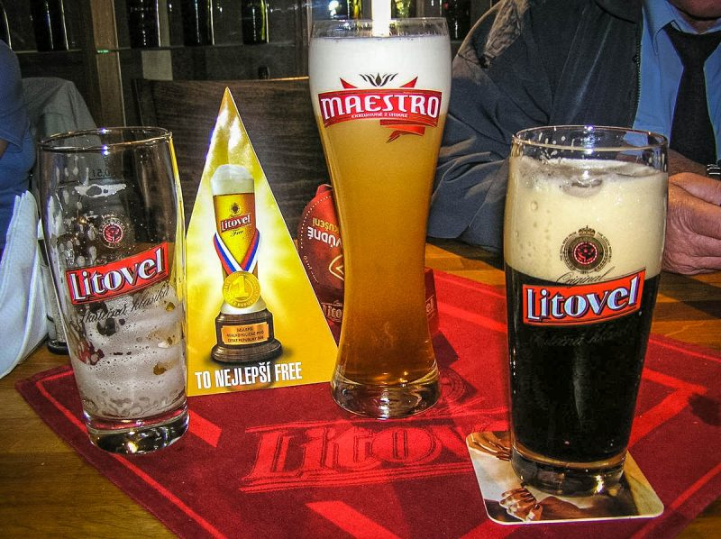 Разнообразие пива Litovel