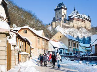 Какие замки в Чехии открыты зимой?