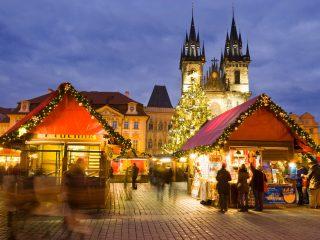 Расписание Рождественских ярмарок в Праге 2018