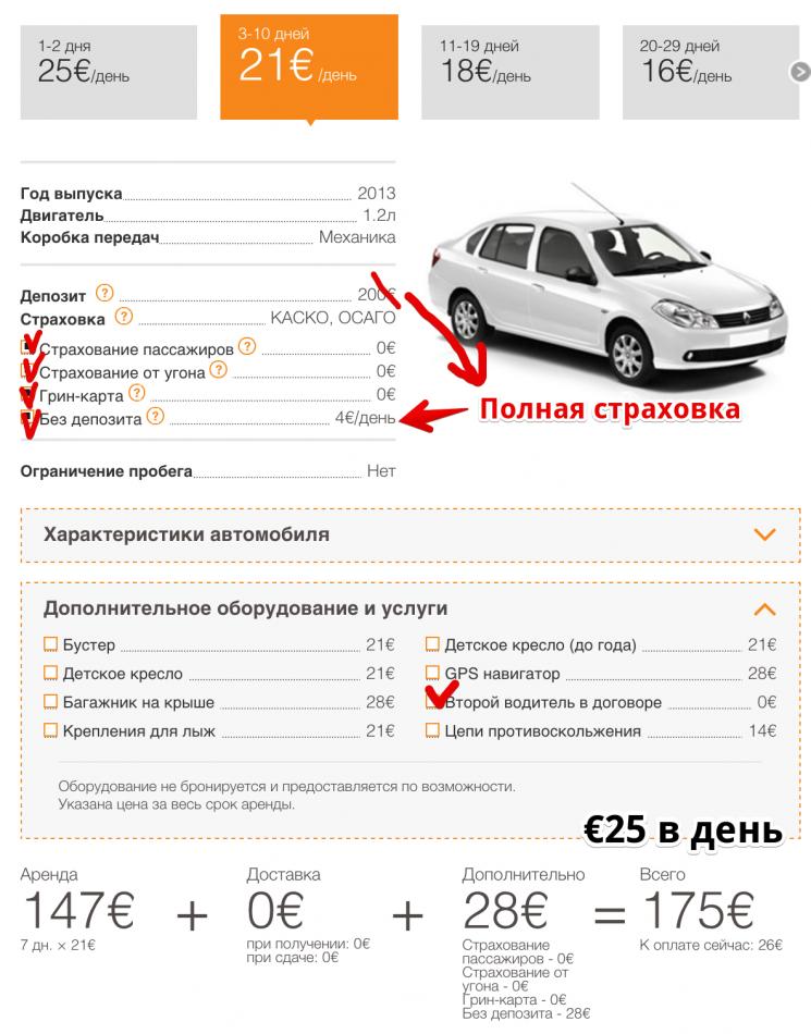 Где выгоднее арендовать авто в Праге 10