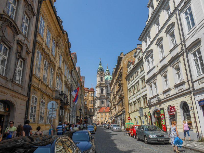 Улица Мостецкая (Mostecká)
