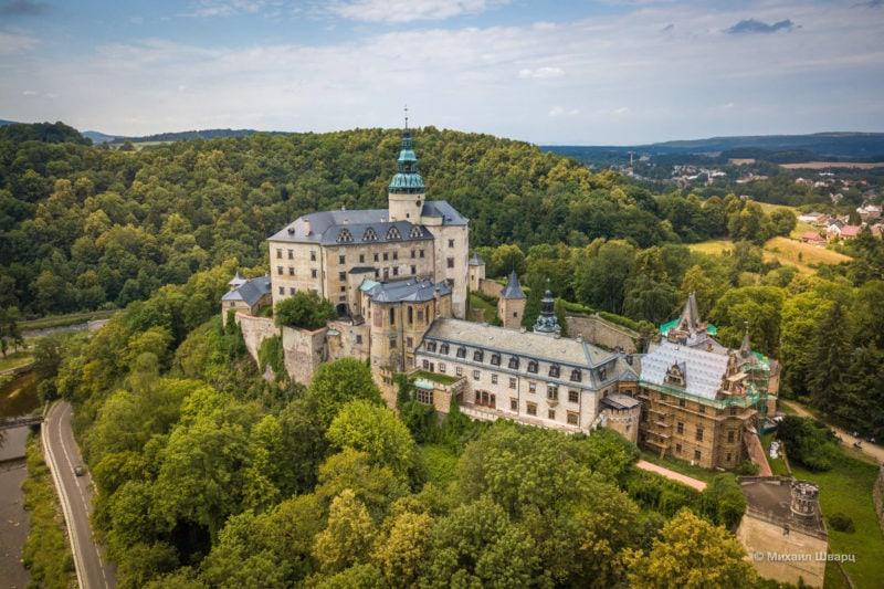 Замок Фридлант (Hrad a zámek Frýdlant)
