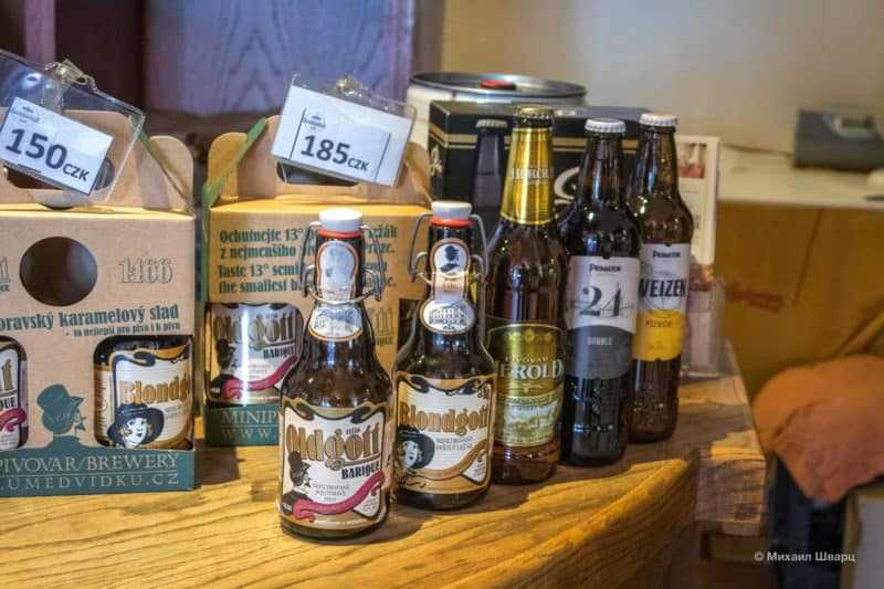 Ассортимент пива от минипивовара «У Медведку»