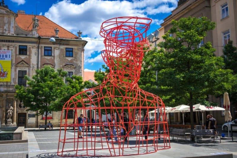Современное искусство на улицах Брно
