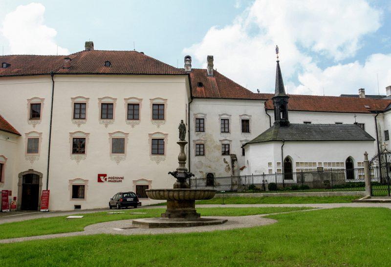 Почтовый музей и часовня св. Aнны