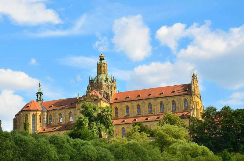 Кладрубский бенедиктинский монастырь – шедевр «барочной готики» Яна Сантини