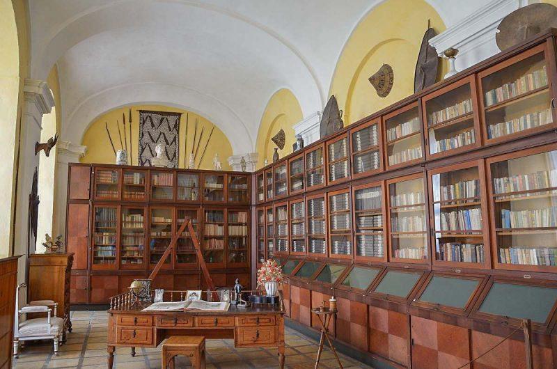 Монастырская библиотека