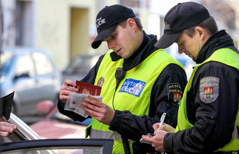 Чешская дорожная полиция