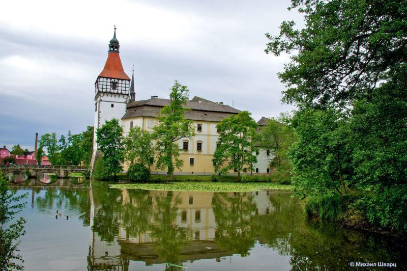 Замок Блатна (Zámek Blatná)