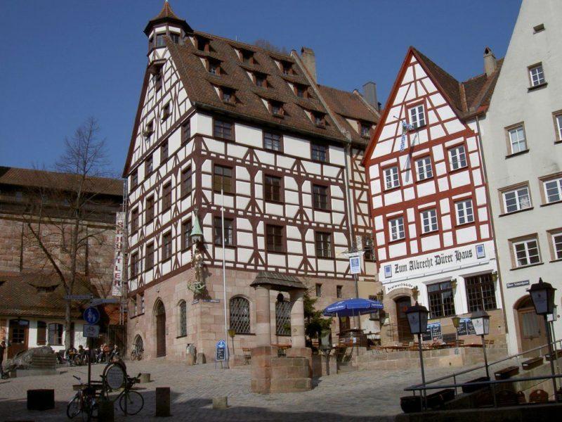 Нюрнберг, дом-музей Альбрехта Дюрера