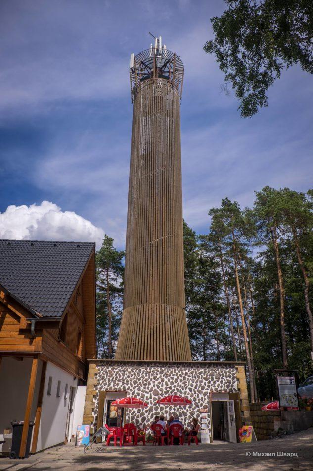 Смотровая башня Na Stráži