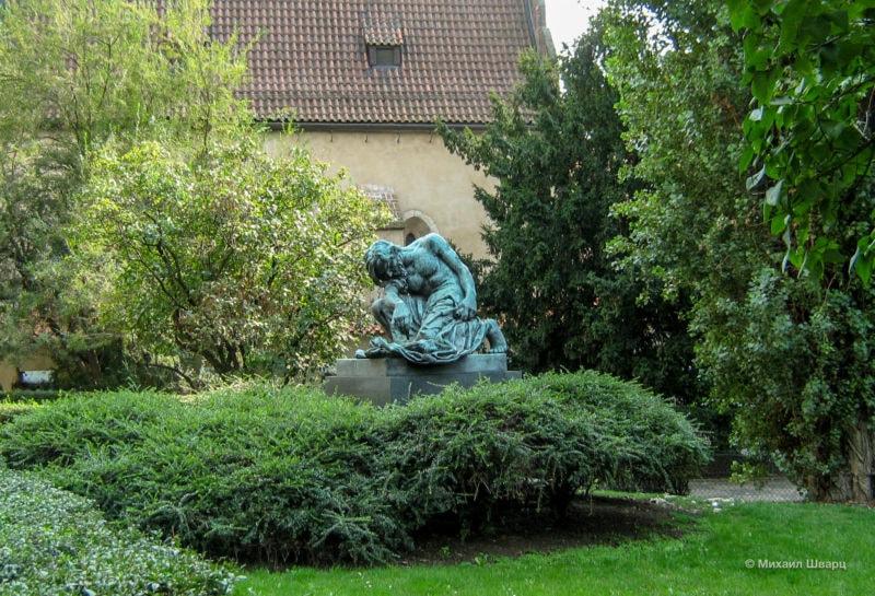 Скульптура Моисея (Socha Mojžíše)