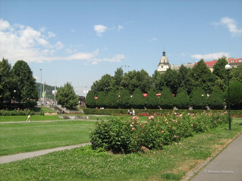 Зитковы сады (Zítkovy sady)