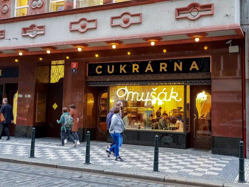 Кафе-кондитерская Myšák