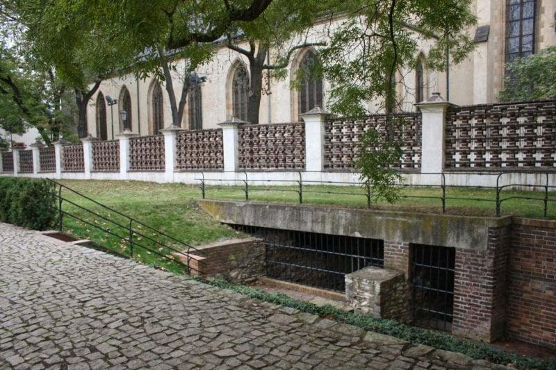 Руины романского моста (Zbytky románského mostu)