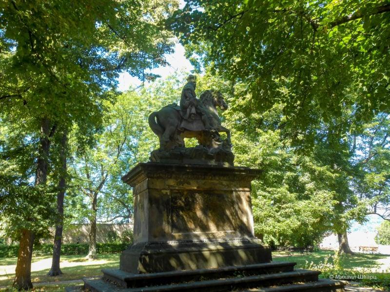Конный памятник святому Вацлаву