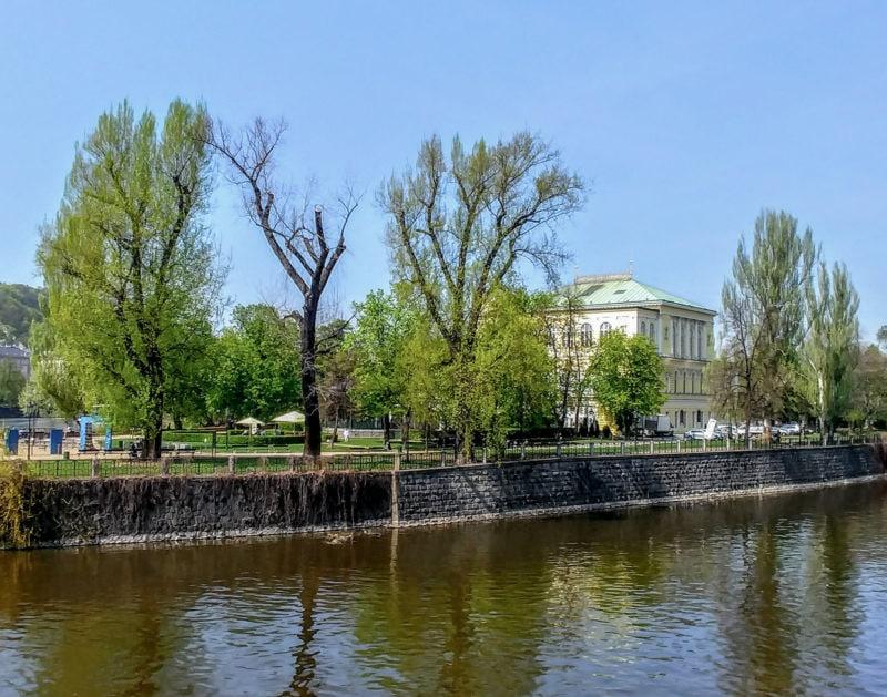 Славянский остров(Slovanský ostrov)