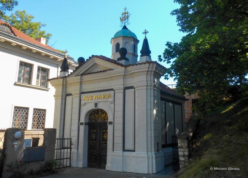 Часовня Девы Марии (Kaple Panny Marie Šancovské)