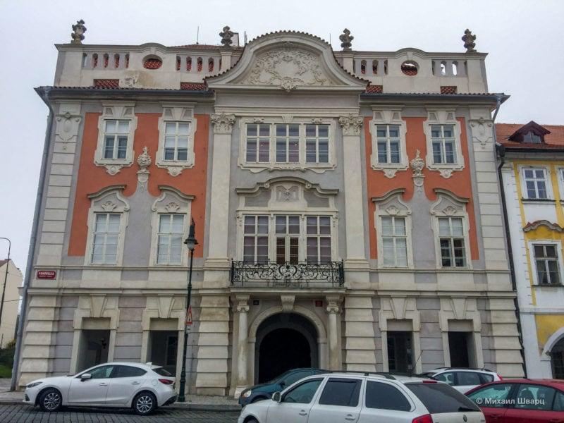 Кучеровский дворец (Kučerův palác)