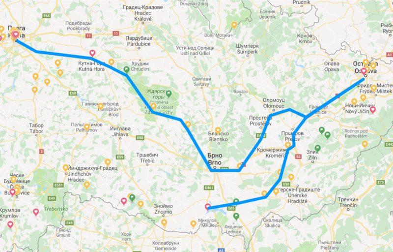 3 часть маршрута