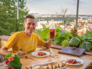 Ресторан Petřínské terasy