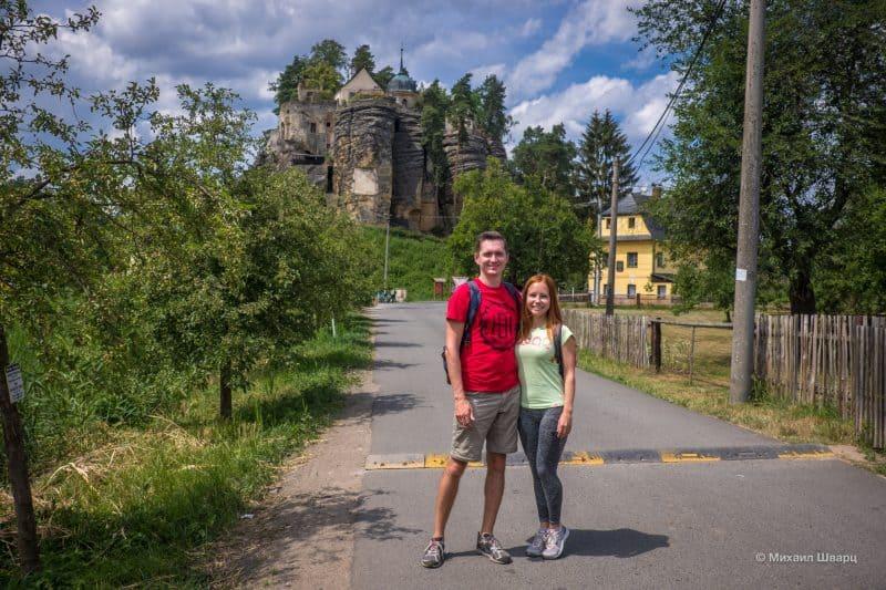 Скальный град Слоуп (Skalni hrad Sloup)