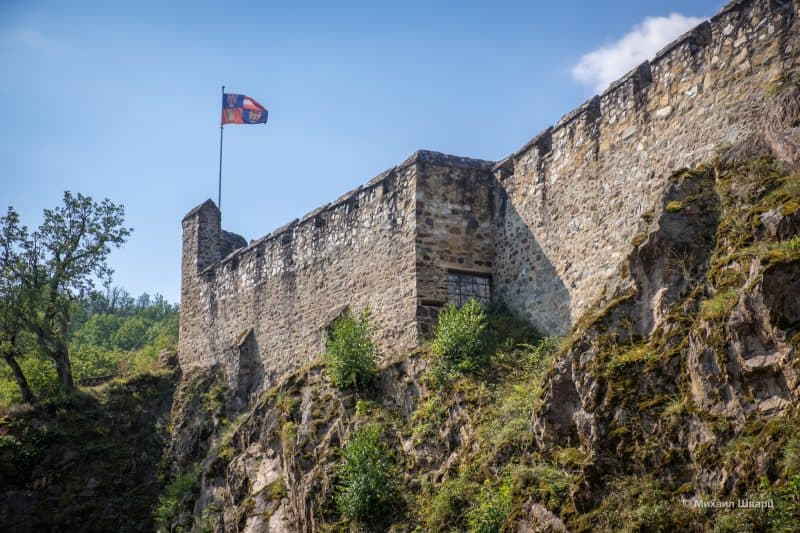 Руины замка Корнштейн