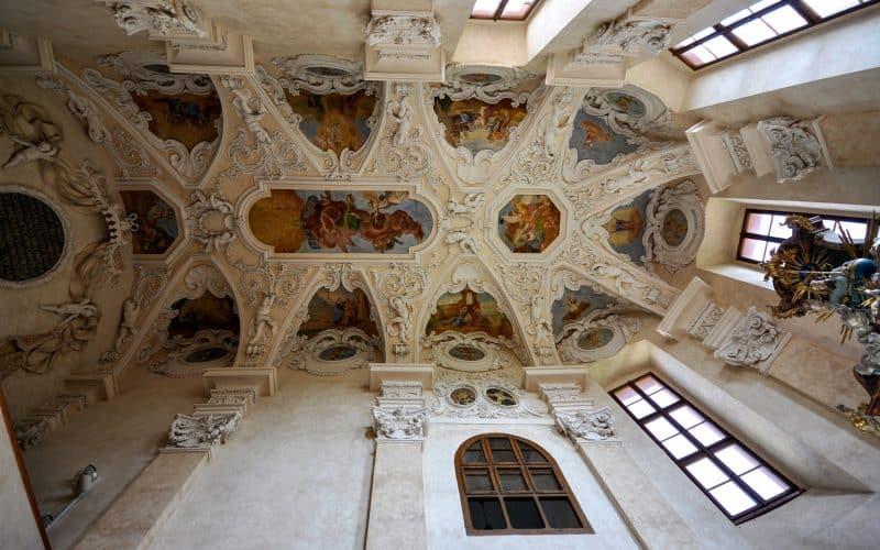 Свод часовни в стиле раннего барокко