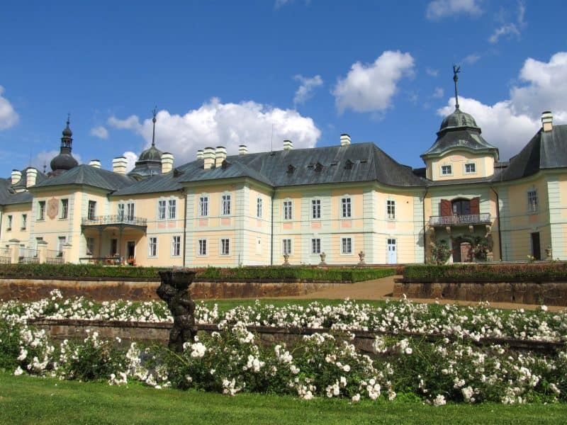 Замок Манетин (Zámek Manětín)