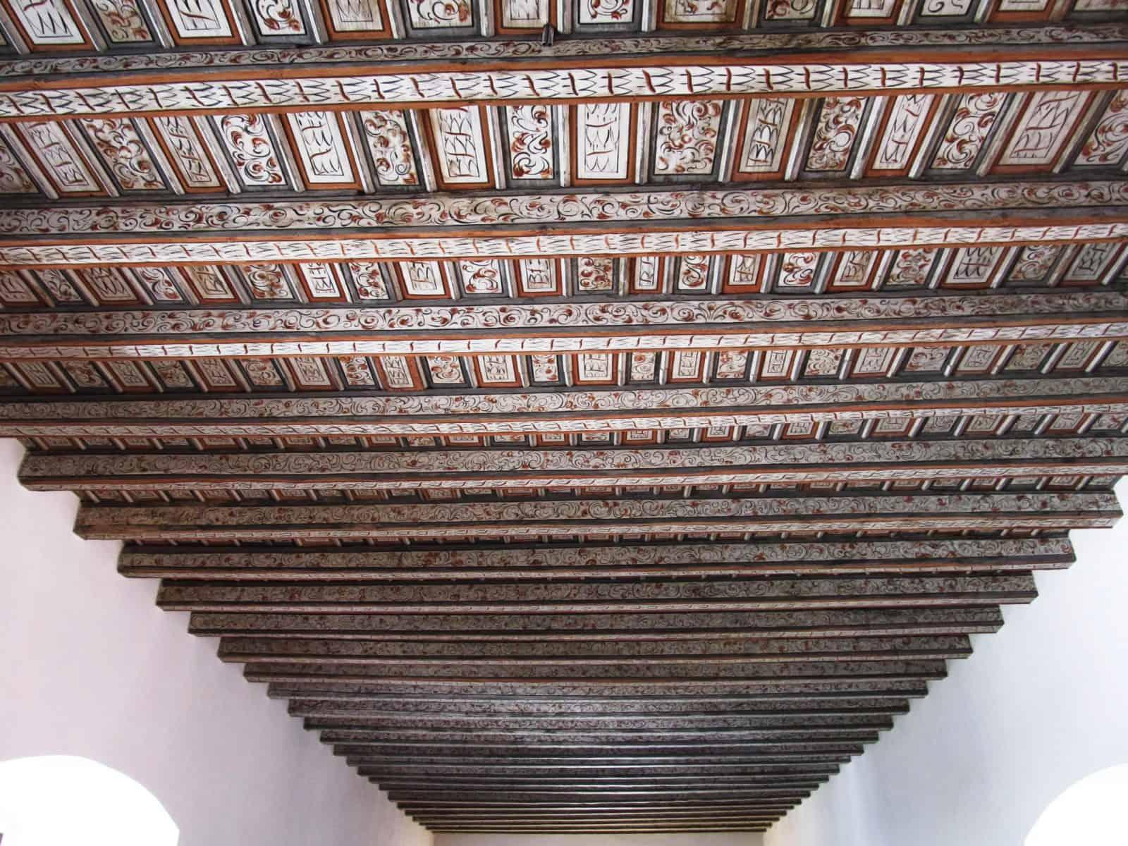 Потолок в Рыцарском зале